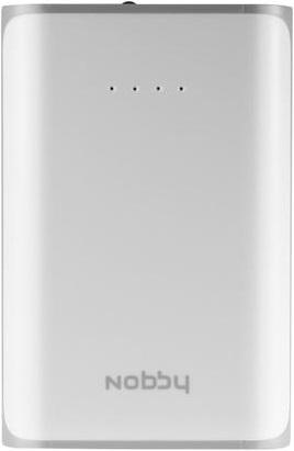 Внешний аккумулятор Nobby Practic-012-001 6000mAh White аккумулятор внешний nobby pb 007 white