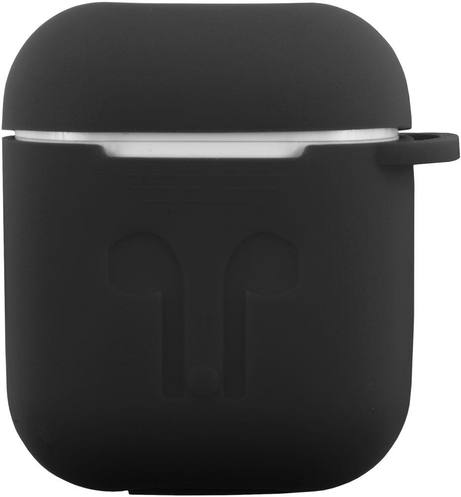 чехол для сотового телефона semolina чехол для наушников airpods 4605180024189 черный Чехол RedLine для зарядного кейса Airpods Black