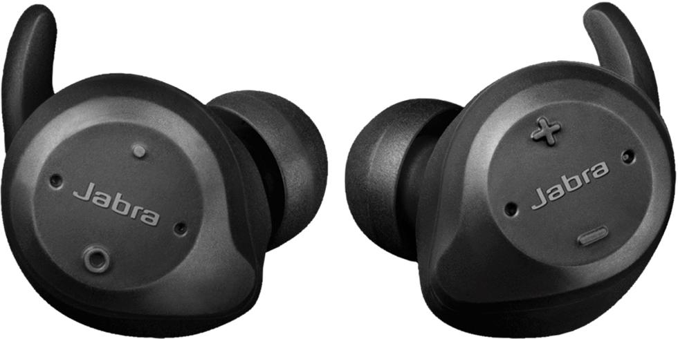 Беспроводные наушники с микрофоном Jabra Elite Sport Bluetooth TWS Black