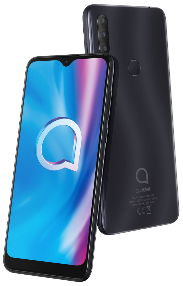 Смартфон Alcatel 1S (2020) 5028Y 3/32Gb Power Gray фото