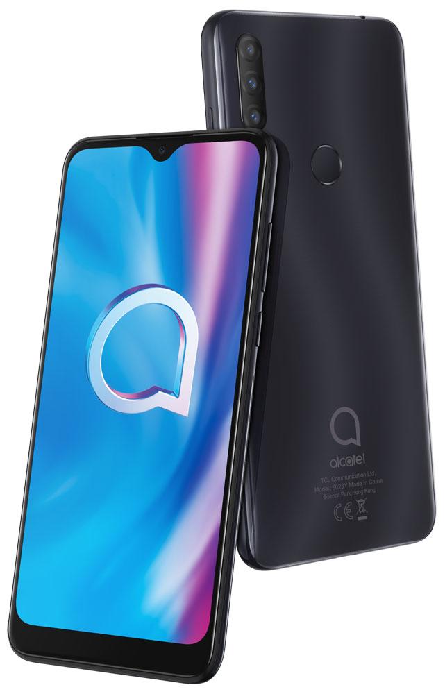 Смартфон Alcatel 1S (2020) 5028Y 3/32Gb Power Gray