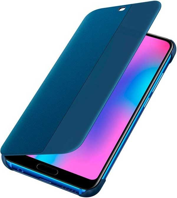 Чехол-книжка Huawei Honor 10 Blue чехол книжка huawei smart cover для honor 6x серебристый