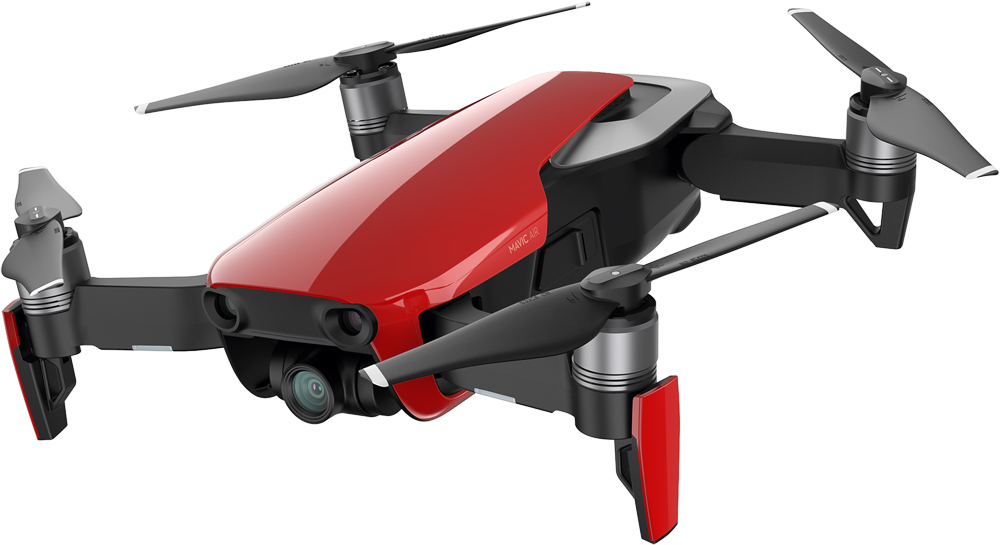 Квадрокоптер DJI Mavic Air Red квадрокоптер dji mavic air fly more combo eu onyx black