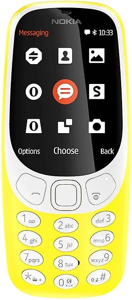 Мобильный телефон Nokia 3310 Dual sim yellow orico bta 408 bluetooth adapter new mini usb bluetooth 4 0 adapter for windows xp vista 7 8 8 1 10 ios