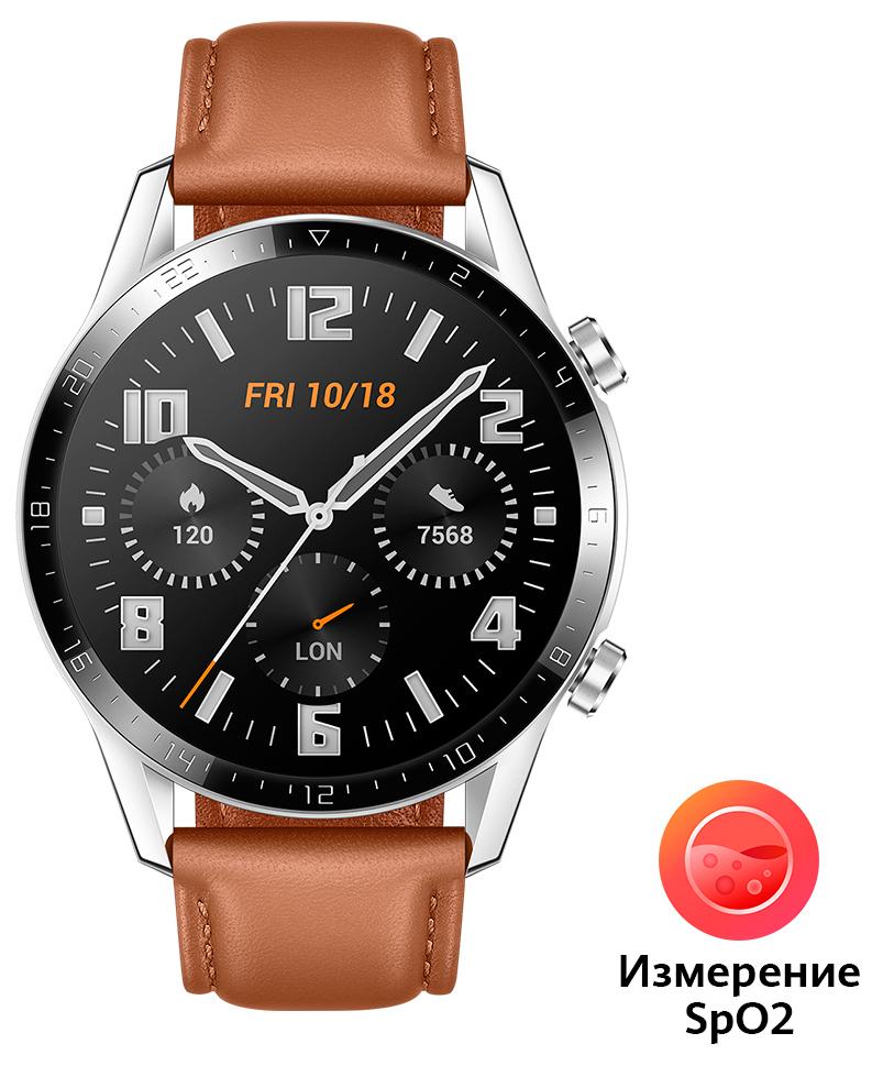 Часы Huawei Watch GT 2 Brown (Latona-B19V) фото