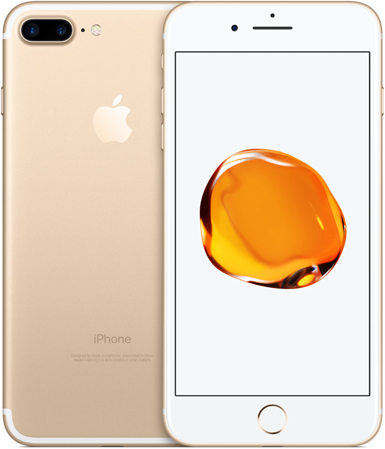 Смартфон Apple iPhone 7 Plus 32GB Gold (MNQP2RU/A) фото