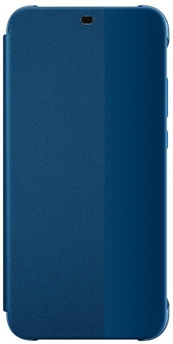 Чехол-книжка Huawei для P20 Lite blue аксессуар чехол для huawei p20 lite neypo brilliant silicone light blue crystals nbrl4496