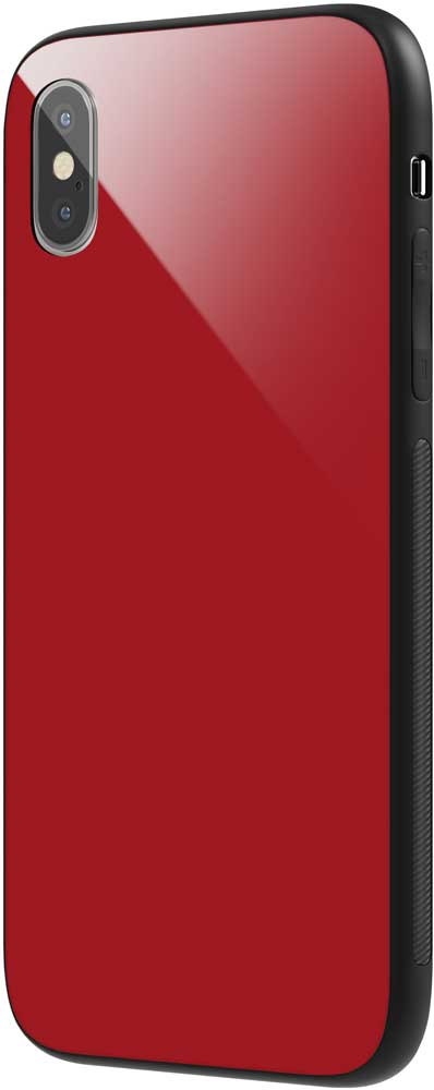 Клип-кейс Vipe Glass Apple iPhone Х прямоугольный Red клип кейс vipe glass apple iphone х прямоугольный red