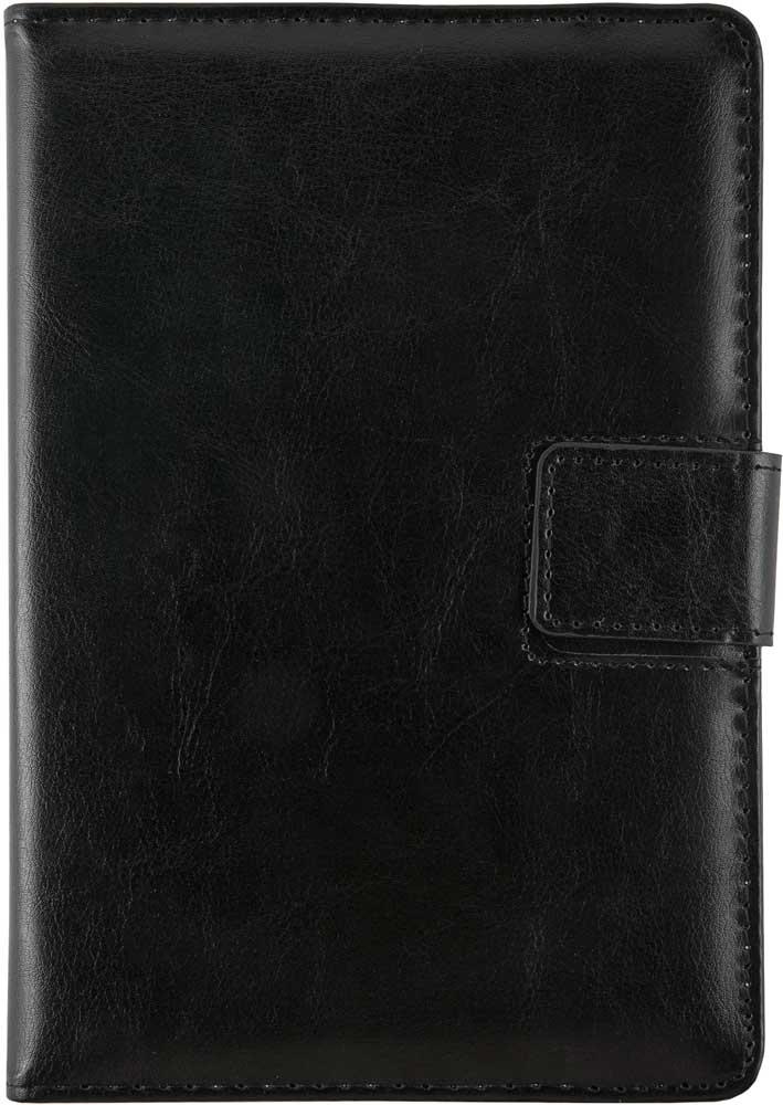 Чехол-книжка RedLine iBox 8 универсальный Black чехол универсальный ibox slider universal слайдер для телефонов 3 5 4 2 белый