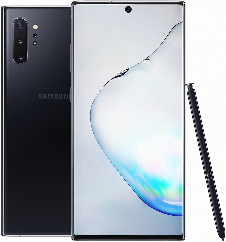 Смартфон Samsung N975 Galaxy Note 10+ 12/256Gb Черный фото