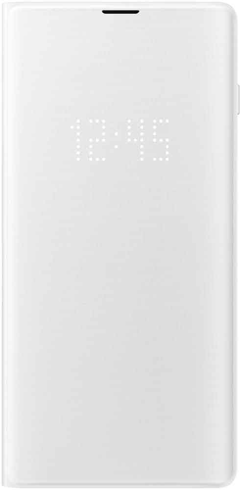 Чехол-книжка Samsung Galaxy S10 Plus EF-NG975P LED View White аксессуар чехол для samsung galaxy s10 plus led view cover white ef ng975pwegru