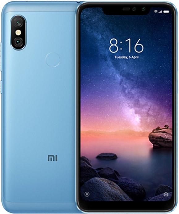 Фото - Смартфон Xiaomi Redmi Note 6 Pro 32Gb Blue объектив