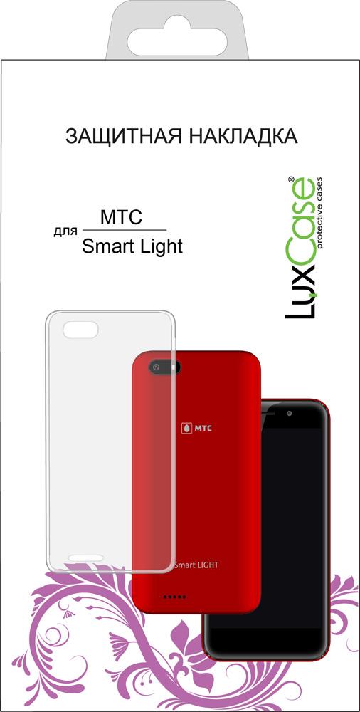 Клип-кейс LuxCase МТС Smart Light прозрачный redline для мтс smart start 3 матовая