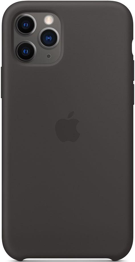 Клип-кейс Apple iPhone 11 Pro MWYN2ZM/A силиконовый Черный фото
