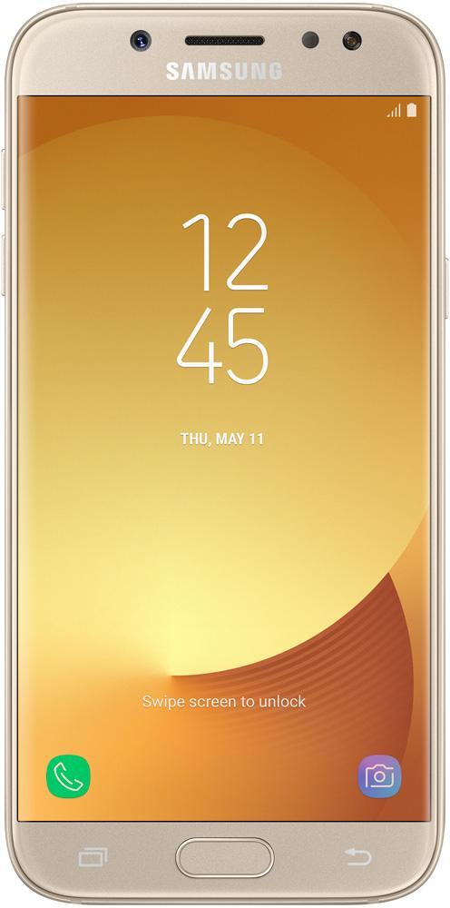 Смартфон Samsung Galaxy J5 (2017) J530 16GB Gold SM-J530FZDNSER