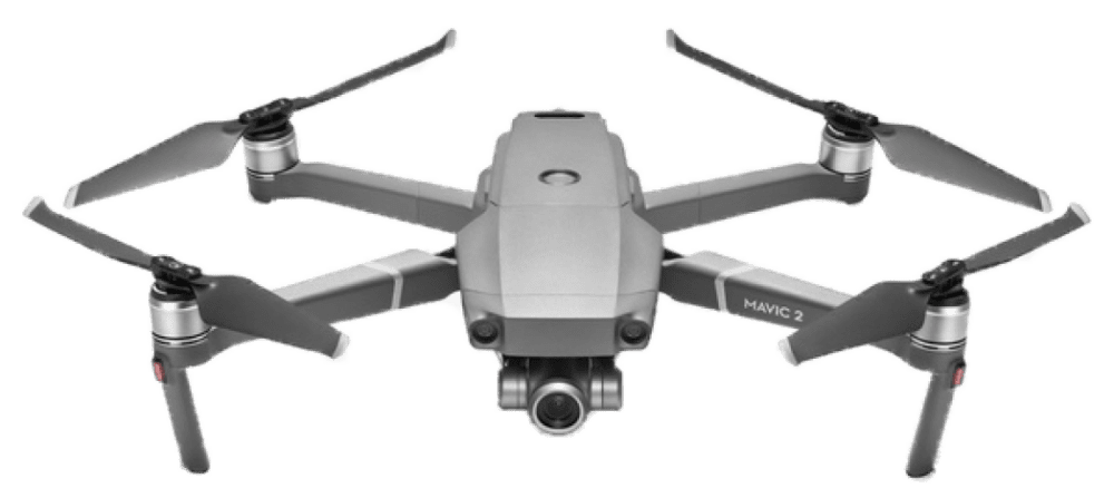 Квадрокоптер DJI Mavic 2 Zoom Grey квадрокоптер dji mavic air arctic white