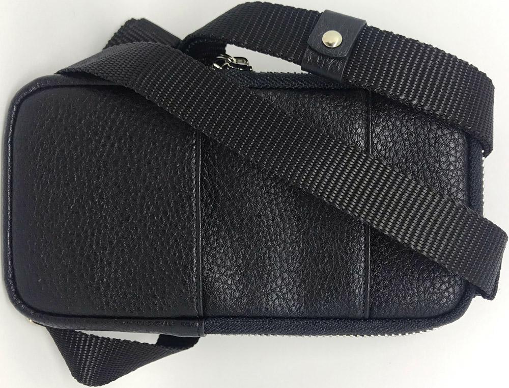 Сумка OxyFashion на плечо универсальная XXL кожзам Black сумка на кнопке im your bag кожзам 22х16