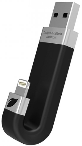 Фото - USB Flash Leef iBridge 128GB USB 3.1 black usb флешка leef ibridge 3 32gb черный