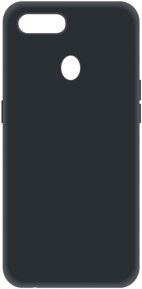 Клип-кейс LuxCase Oppo A5s силикон Black фото