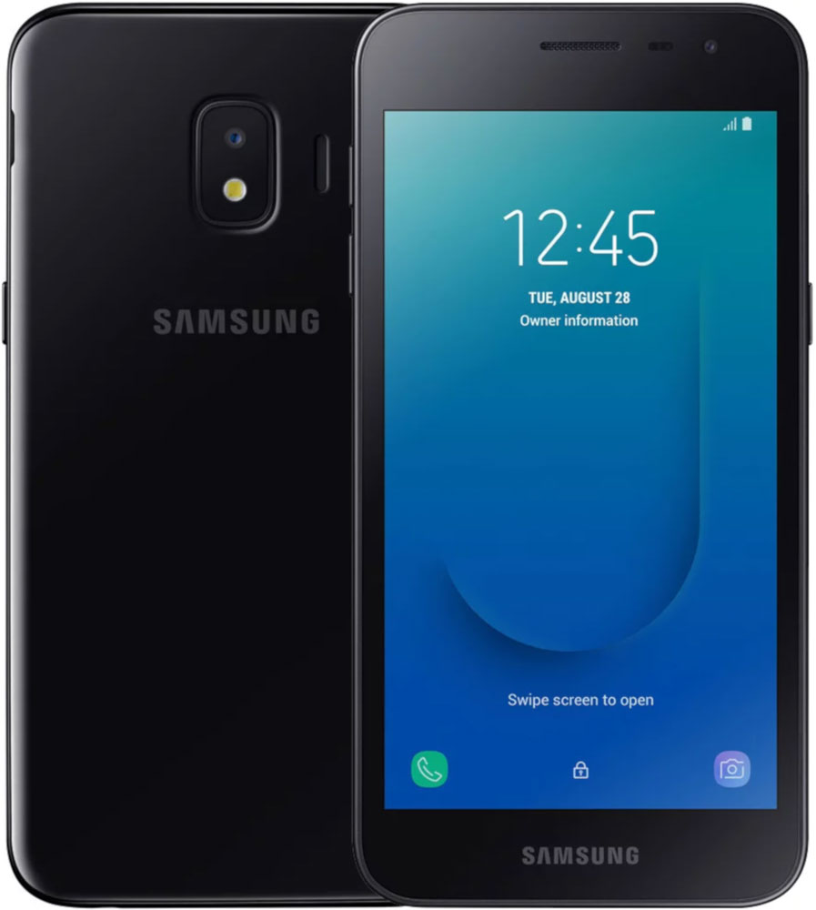 Смартфон Samsung J260 Galaxy J2 Core (2020) 1/16Gb Black фото