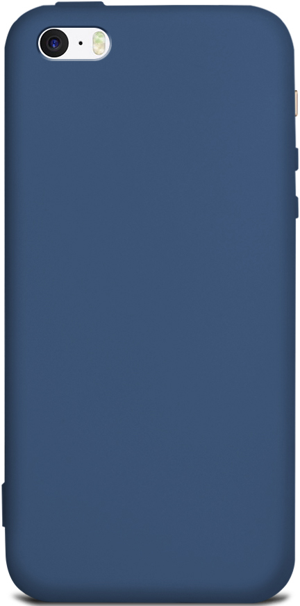Клип-кейс Gresso Apple iPhone 5/SE TPU Blue клип кейс gresso air sil для nokia 5 1 прозрачный