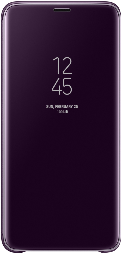 цена на Чехол-книжка Samsung Galaxy S9 Plus LED View Cover Orchid Grey