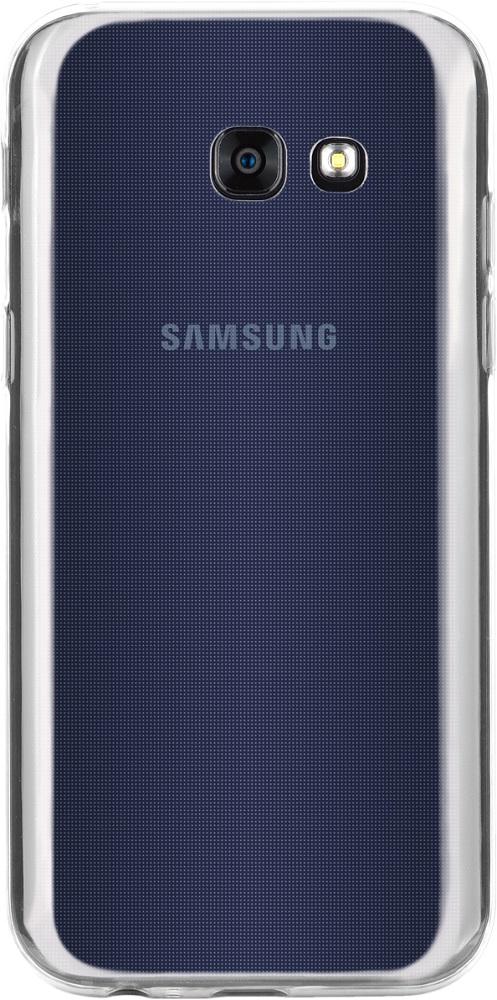Клип-кейс InterStep Slender для Samsung Galaxy A5 2017 прозрачный кейс для назначение ssamsung galaxy a5 2017 a3 2017 прозрачный с узором кейс на заднюю панель слон мягкий тпу для a3 2017 a5 2017