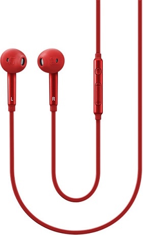 все цены на Наушники с микрофоном Samsung In-ear-Fit EO-EG920 Red