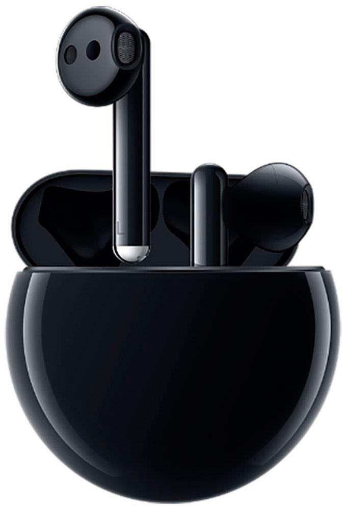 Беспроводные наушники с микрофоном Huawei Freebuds 3 Black фото