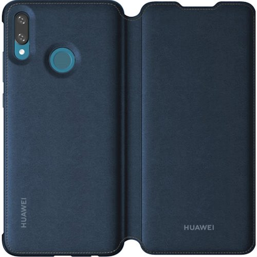 Чехол-книжка Huawei для P Smart 2019 Blue (51992895) аксессуар чехол для huawei p smart neypo brilliant silicone black crystals nbrl4679