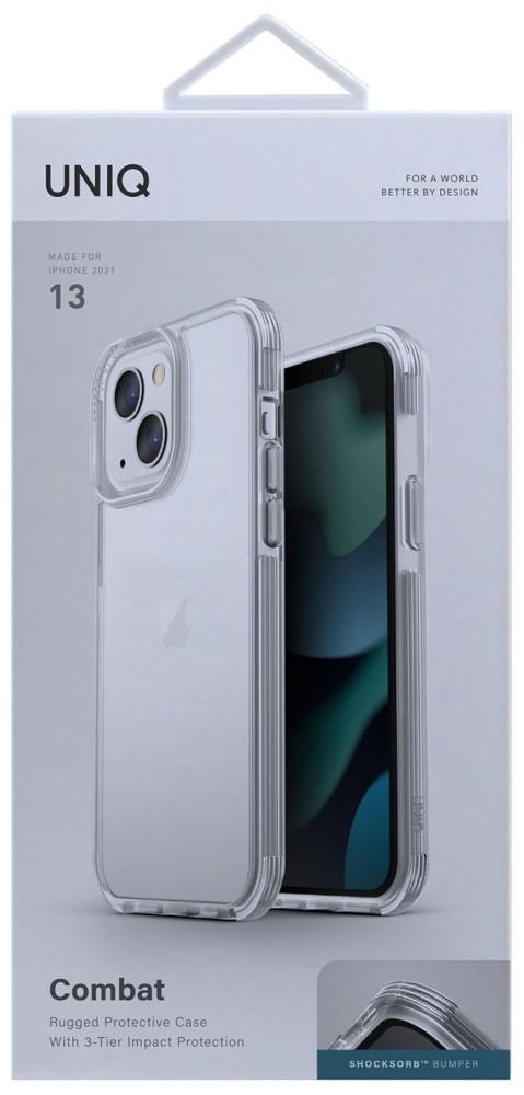 Клип-кейс Uniq iPhone 13 Combat прозрачный фото 5