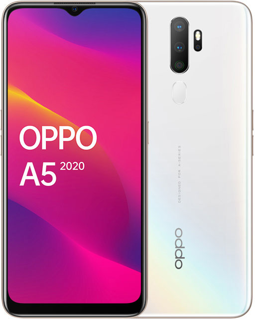 Смартфон OPPO A5 2020 3/64Gb White фото
