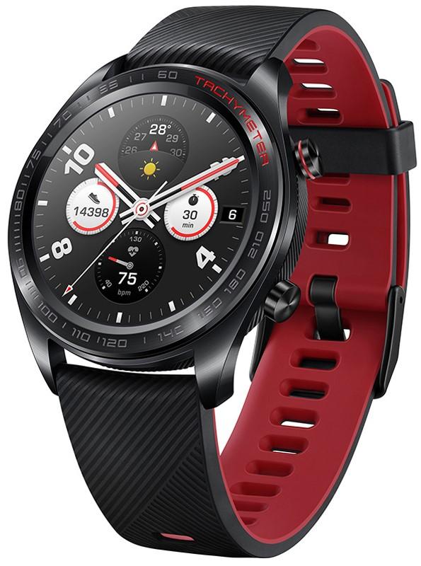 Часы Honor Watch Magic B19S с силиконовым ремешком Black wokka watch q360 black