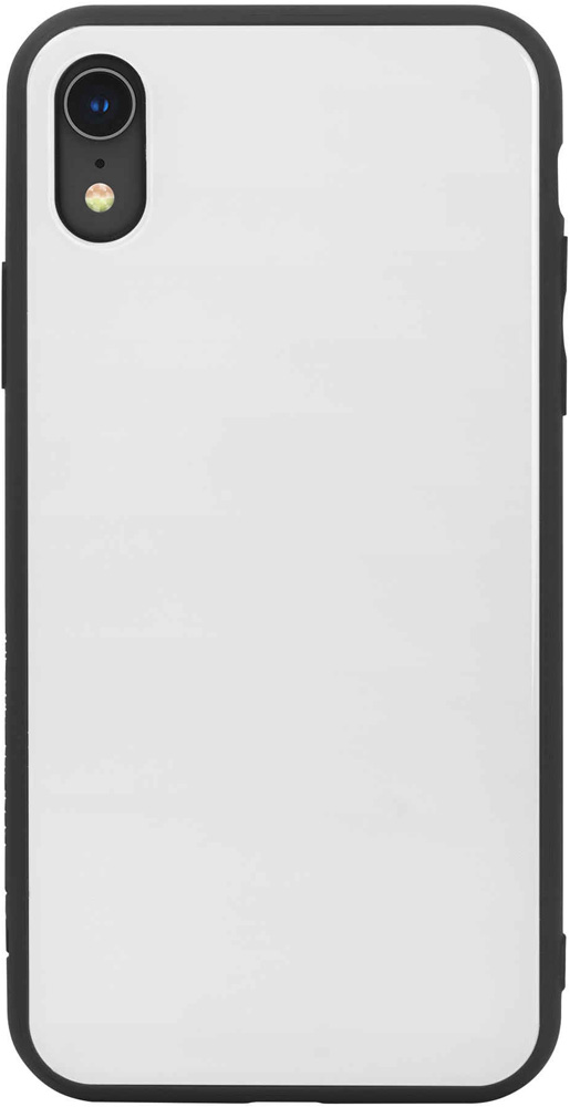 Клип-кейс Hardiz Apple iPhone XR Glass White клип кейс inoi prism для apple iphone xr серебристый
