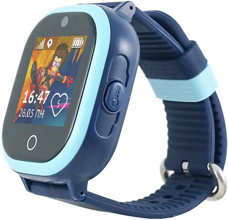 Детские часы Кнопка Жизни Aimoto Ocean Blue кнопка жизни aimoto ocean light blue умные часы