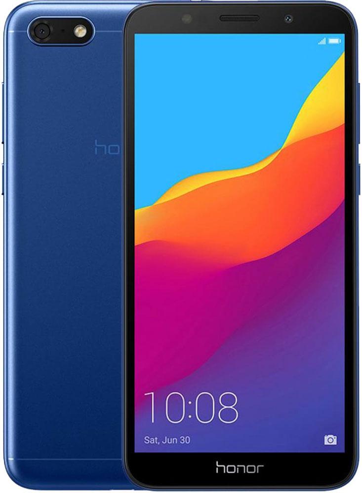 Смартфон Honor 7A Blue фото