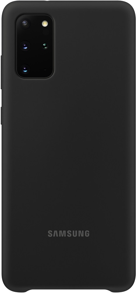 Клип-кейс Samsung Galaxy S20 Plus силиконовый Black (EF-PG985TBEGRU) смартфон samsung galaxy s20 plus 128gb black