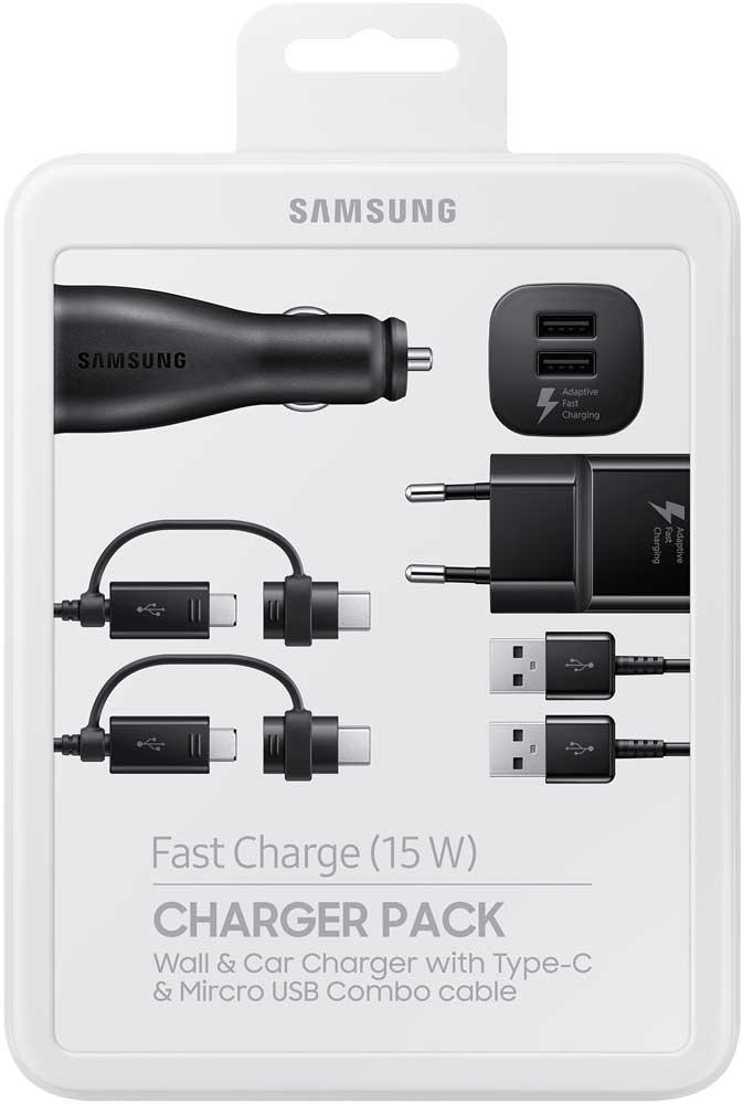 Комплект зарядных устройств Samsung EP-U3100 Black ep 10 black
