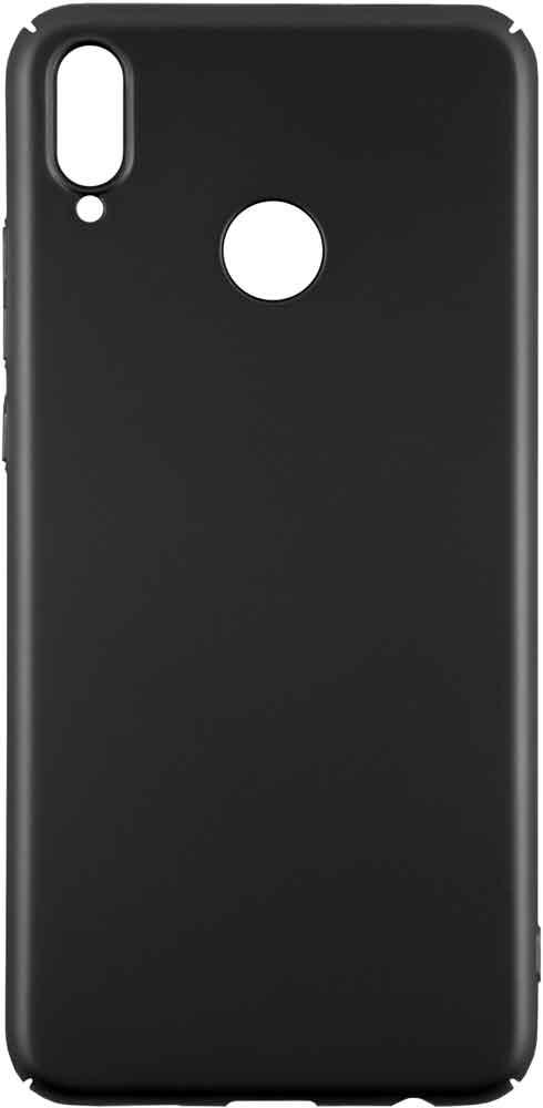 Набор чехлов Tribe Honor 8X силикон+пластик прозрачный/черный