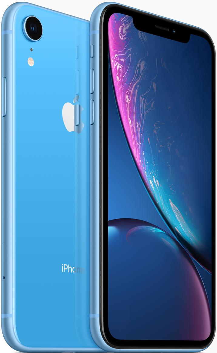 Смартфон Apple iPhone XR 64Gb Blue (Синий) фото
