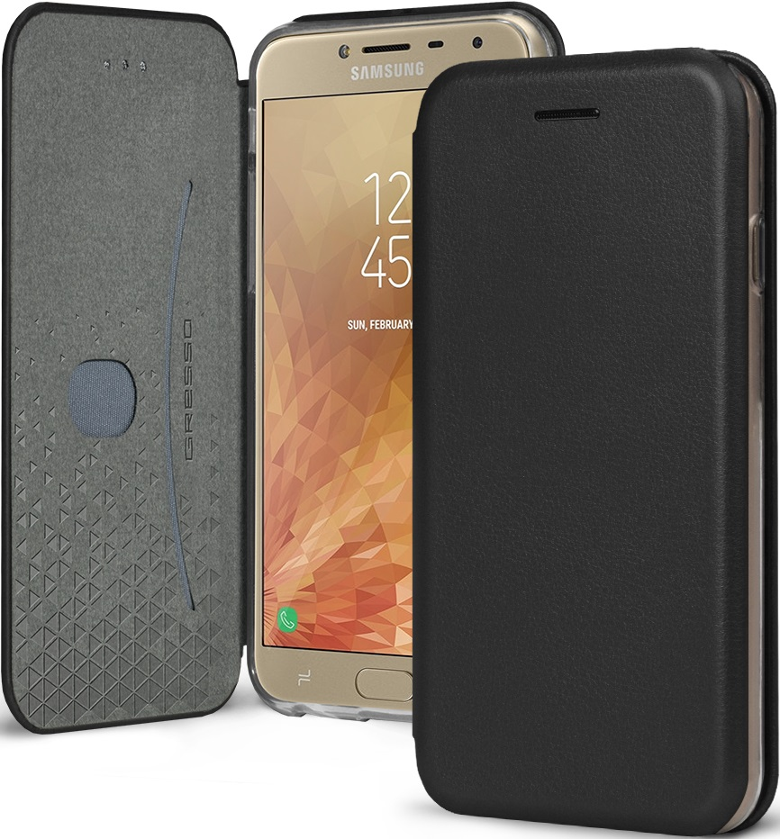 Чехол-книжка Gresso Shell Samsung Galaxy J4 Black