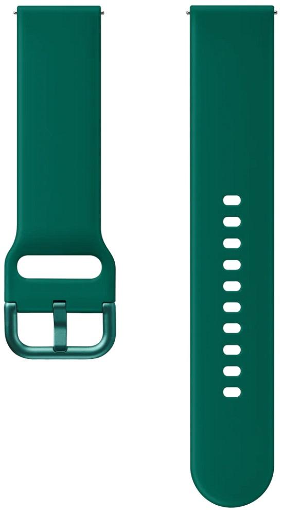Ремешок для умных часов Samsung Galaxy Watch Active ET-SFR82M спортивный Green фото