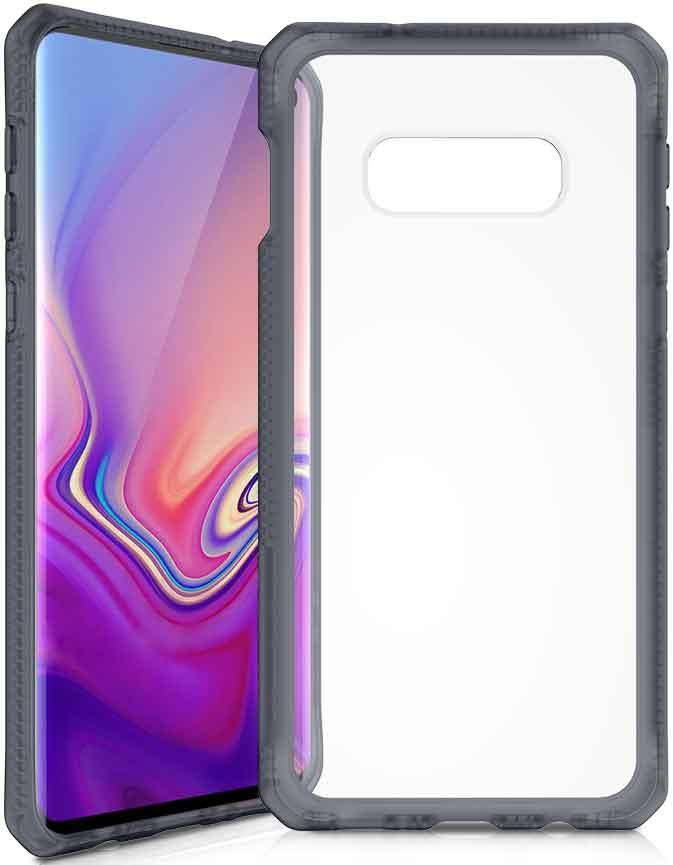 Клип-кейс Itskins Samsung Galaxy S10e Black клип кейс uniq samsung galaxy s10e black
