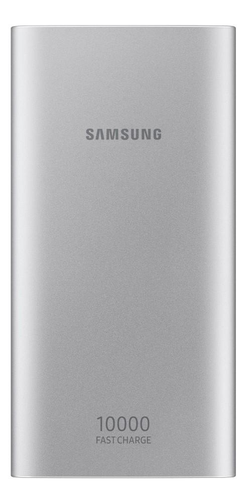 Внешний аккумулятор Samsung EB-P1100CSRGRU 10000 mAh Type-C silver внешний аккумулятор samsung 10000 mah eb p3000c темно синий