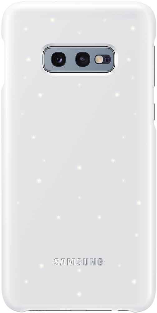 Клип-кейс Samsung Galaxy S10e EF-KG970C LED White клип кейс samsung galaxy s10e ef vg970l кожа black