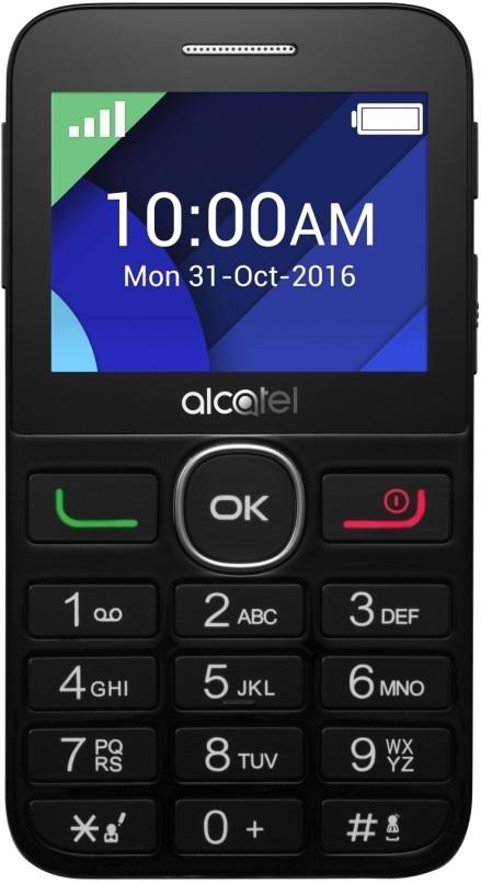 Мобильный телефон Alcatel One Touch 2008G Black