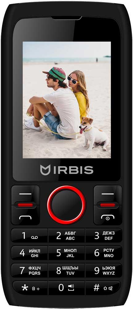 цена на Мобильный телефон Irbis SF52r Dual sim Red Black