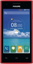 фото Смартфон Philips S309 Dual Sim Red