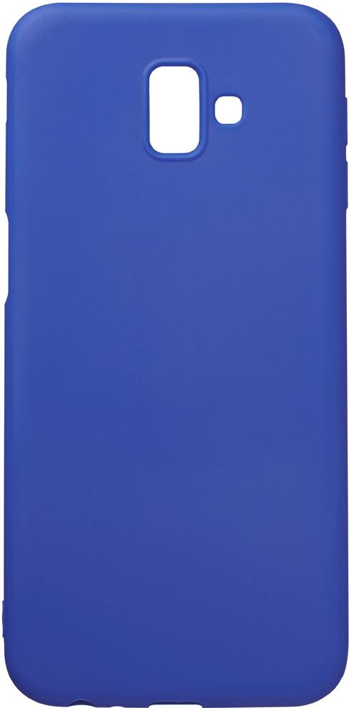 Клип-кейс Deppa Samsung Galaxy J6 Plus TPU Blue клип кейс deppa samsung galaxy a7 2018 tpu прозрачный