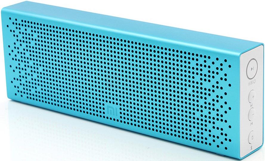 Портативная акустическая система Xiaomi Mi Bluetooth Speaker Blue bluetooth speaker jbl clip 2 portable speakers clamping waterproof speaker sport speaker